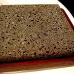 R cafe - ステーキを焼く石の板です、熱々ですよ