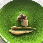 69900894 - 魚料理(さわら&蛍烏賊&筍、味噌ソースで)