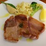Caffè ソライ屋 - メイン 豚のハーブ焼き