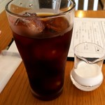Caffè ソライ屋 - 食後のアイスコーヒー