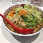 どうとんぼり神座 - 野菜いっぱいラーメン(税込800円)