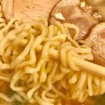 支那そば まるこう - 麺リフト【料理】