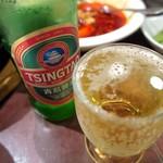 陳家私菜 - 青島ビール