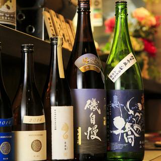 お料理に合う日本酒は店主にご相談ください