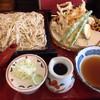 mimi - 料理写真:野菜天もりそばです。