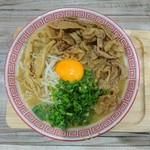 徳島ヌードル ぱどる - 料理写真:2017年7月 徳島ラーメン+肉盛りプラス 750+150円