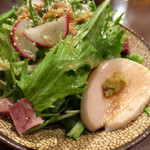 69909229 - 蒸し鶏サラダ