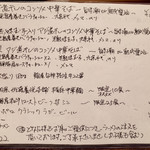 Yo-shoku OKADA - 2017年7月11日のメニュー