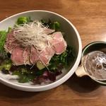 ケルミス - 豚と旬菜のサラダ