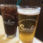ハワイアンパンケーキハウス パニラニ - ダイエットペプシコーラとビール