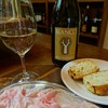 生ハムとワイン メッシタフランコ - 料理写真:お通しで切り立ての生ハムを!