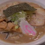 麺房 十兵衛 - H29年7月、特濃醤油並盛(700円)