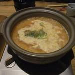 湯布院温泉 御宿 由布乃庄 - 【夕食】地鶏の雑炊