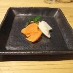 湯布院温泉 御宿 由布乃庄 - 【夕食】季節のお漬物盛り合わせ