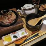 69919118 - 和牛の炙り茶漬け1