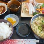ガーラ - 島刺身定食