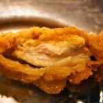 松葉総本店 - 若鶏(カレー味が付いています)