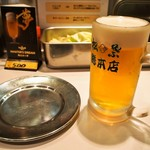 松葉総本店 - 生ビール(モルツ)