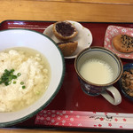 皆愛屋 - ゆし豆腐セット¥500