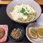 皆愛屋 - ゆし豆腐そばセット¥680