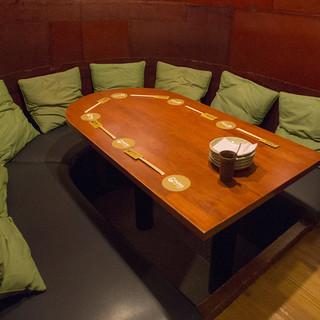 大人の隠れ家人気NO.1!個室スペース