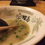 ラーメン櫻島 - とんこつスープ