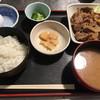えり瀬 - 料理写真:生姜焼き定食(780円)
