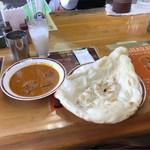 グレート・インディア - マトンカレー。       税込734円。       美味し。