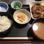 えり瀬 - 生姜焼き定食(780円)