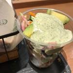 オーガニック バーガー キッチン - アボカドコールスロー ソースが美味しい◎