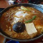 ばんどう太郎 - 味噌煮込みうどんアップ