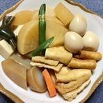 69929971 - 「五目煮」と「こうや豆腐の盛合せ」を盛り付けてみました!