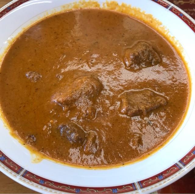 グレート・インディア 池袋西口店 - マトンカレー。 美味し。