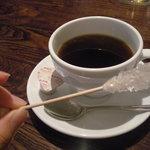 Botanical Garden SARU CAFE - コーヒーについてる砂糖♪