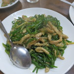 華萬 - ピーマンと肉炒