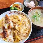 花ふじラーメン - カツ丼