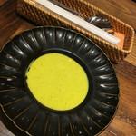 69930905 - カボチャの冷製スープ