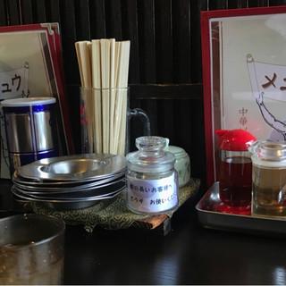 アサヒ軒 - 料理写真:テーブル。
