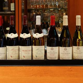 自社でシャンパーニュ・ブルゴーニュワインを輸入しております。