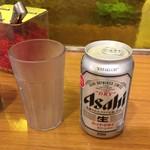 カレーショップ C&C - 缶ビール260円