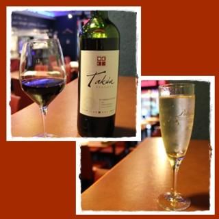 スパークリングワインor赤ワイン飲み放題