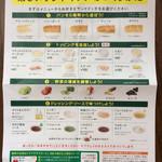 サブウェイ - サンドイッチのメニュー