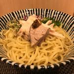 麺処 一龍庵 - ポルチーニオイルのまぜそば大盛り800円