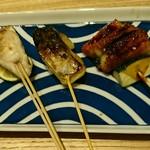 サケトサカナ - サワラの西京焼き、鰻等