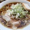 中華そばにぼし - 料理写真:煮干し中華(細ストレート麺) メンマちょい増し