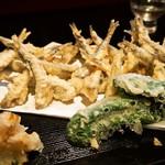 福福寿司 - 料理写真:小いわし天