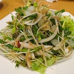 大衆酒場 とんまる - 薬味サラダ