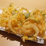 讃岐うどん あ季 - 海老と野菜のかき揚げ(400円・外税)