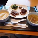 69934595 - 牛たん定食(塩・味噌味ミックス) 1780円 (2017年6月)