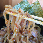 麺処なかがわ - リフトwith納豆